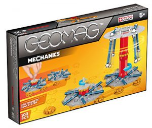 Geomag 726-Mechanics, 103 pcs, 726, Multicolore, Taille Unique