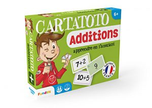 Cartatoto Apprendre les Additions – Jeu de cartes Educatif