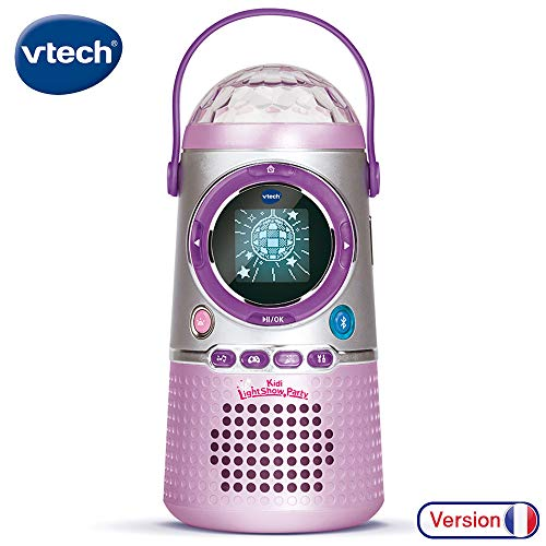 , VTech – Kidi LightShow Party, enceinte Bluetooth enfant