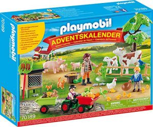 , Playmobil 70189 Calendrier de l'Avent, multicolore Taille unique – version allemande