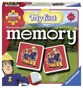 Ravensburger- My First Grand memory®- Sam le Pompier- Jeu Educatif- A partir de 2 ans et demi- 21204
